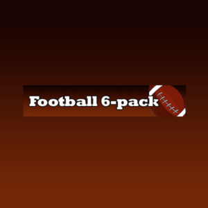 Football 6 pack – Battery Only