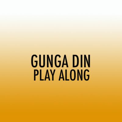 Gunga Din Snare Play Along (Int)