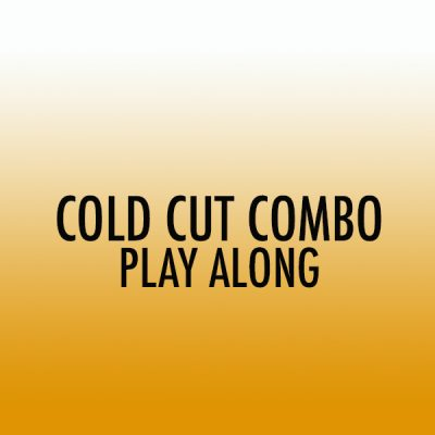Cold Cut Combo Drum Set Play Along (Int)