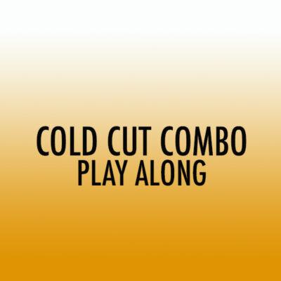 Cold Cut Combo Tenor Play Along (Int)